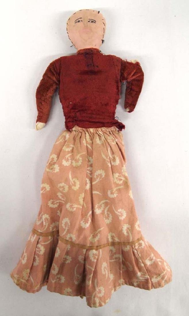 Antique Navajo Cloth Doll, 15 in. S&H $6.50