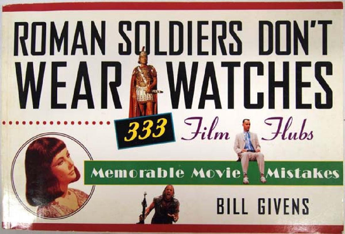 Roman Soldiers Don't Wear Watches, Book S&H $6