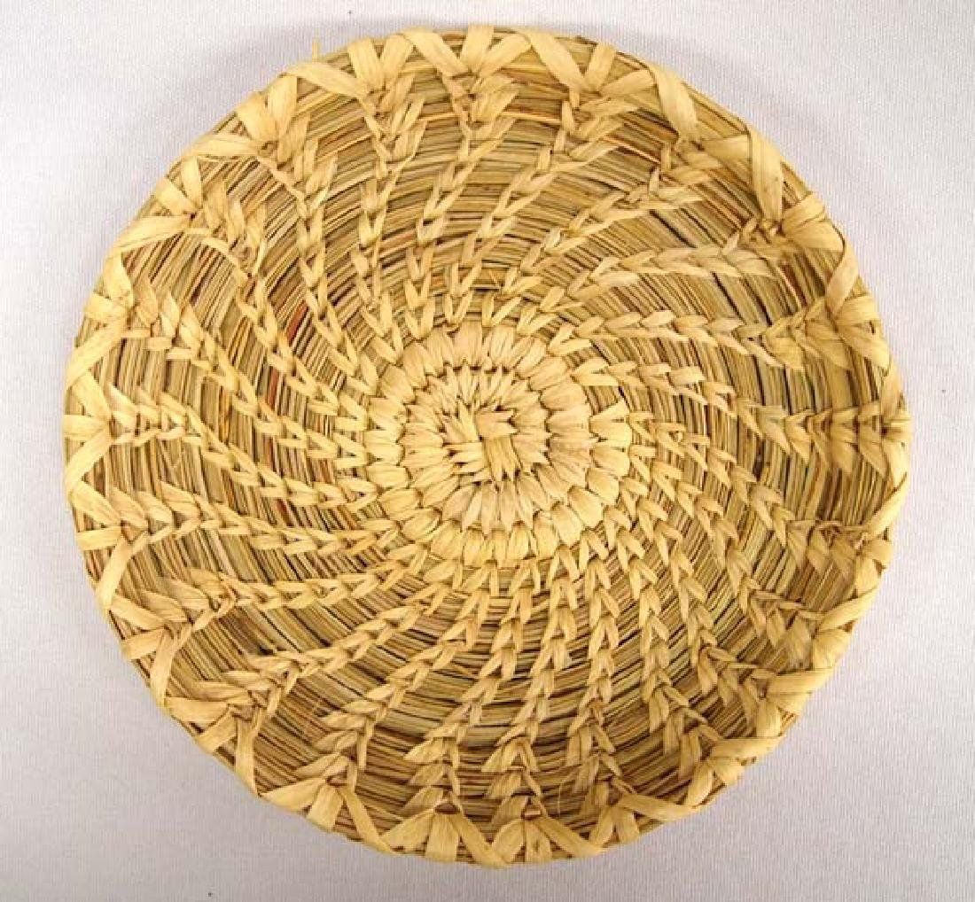Tohono O'odham Basketry Tray, 5 in. S&H $8