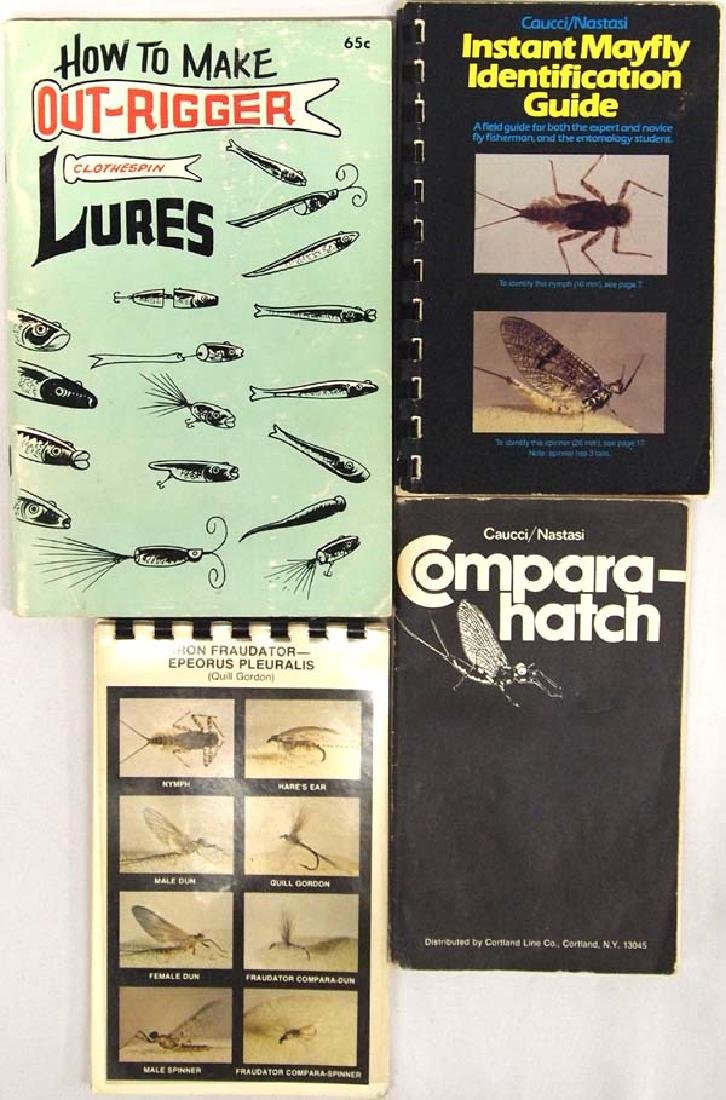 Books on Insects & Lures SH $6