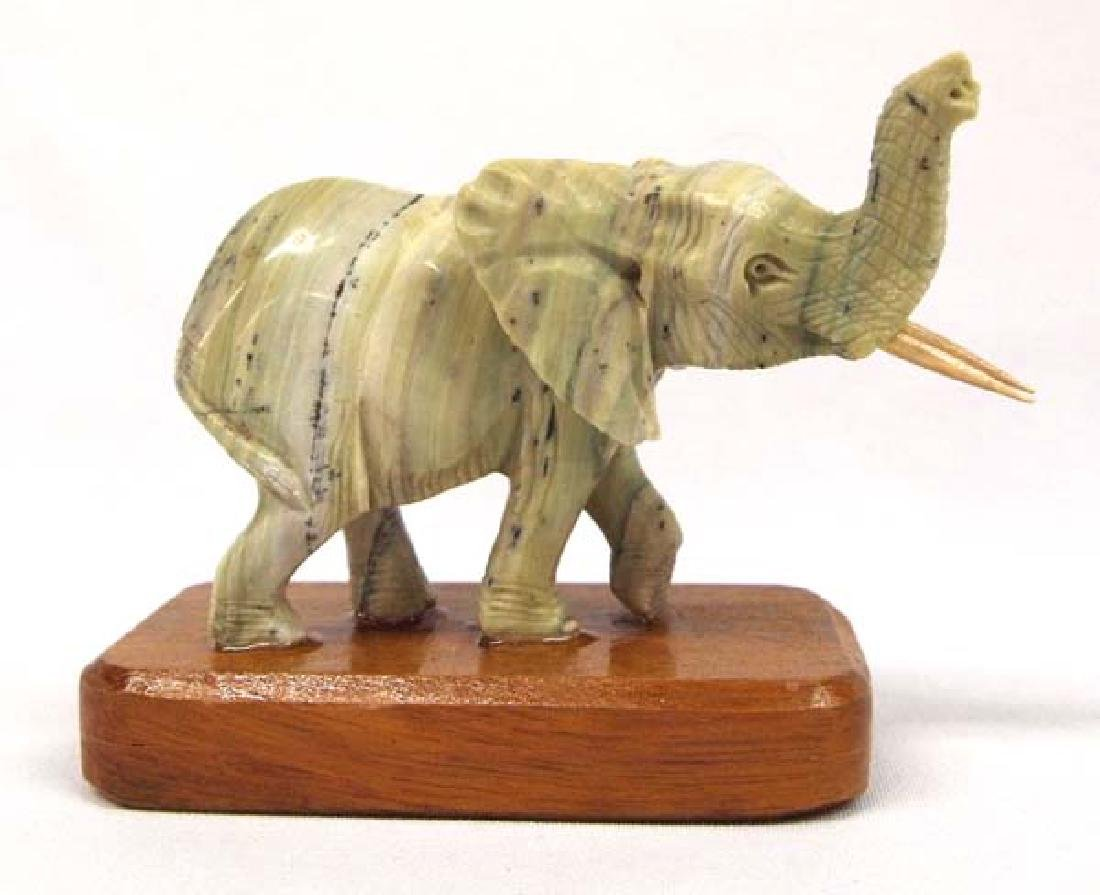 Marble Elephant 6in H SH $8