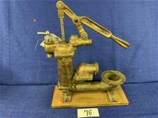 Solid Brass Ship Bilge Pump