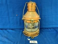 Copper Ship Light