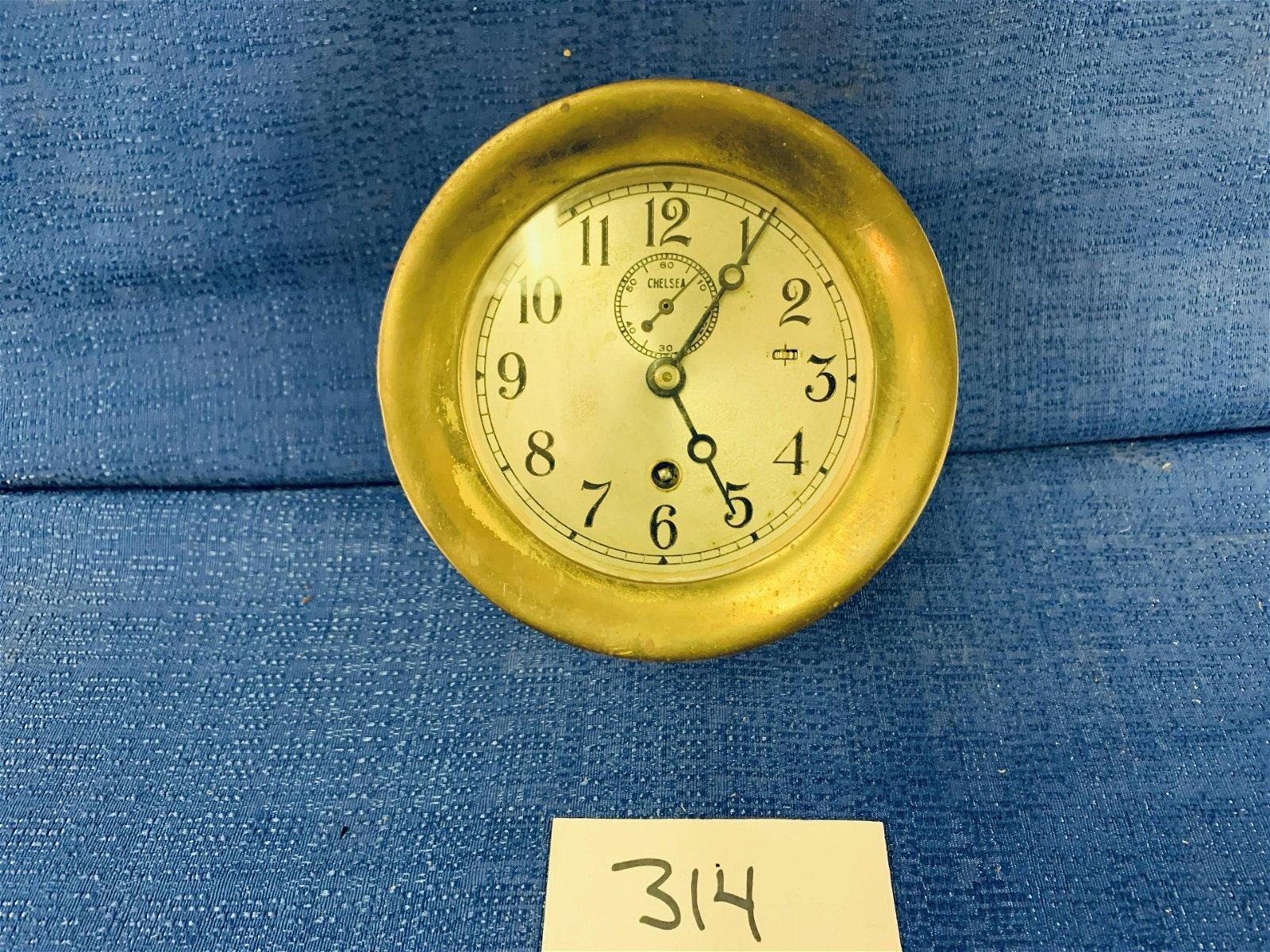 Cheslea Brass Ship Clock