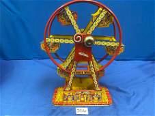 Hercules Tin Toy Ferris Wheel