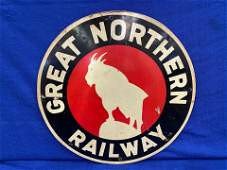 Great Northern Railway Tin Sign