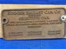 Railroad Car Badge