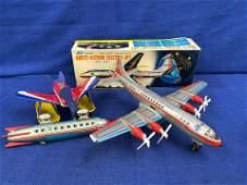 3 Tin Airplanes