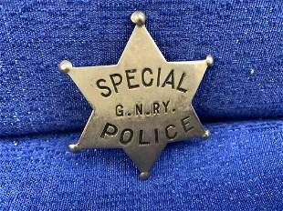Great Northern Special Police Badge