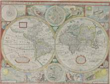 John Speed , A new and accurat Map of the World. Drawne