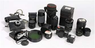 Camera equipment to include lenses Sirius MC Auto
