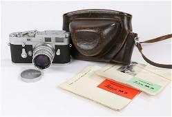 Leica M3 camera, serial number 1033 163, Ernst Leitz