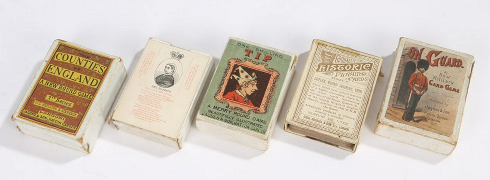 Victorian card games, to include Goodall's Historic