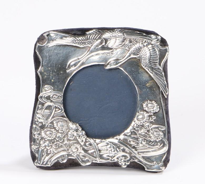 Elizabeth II silver picture frame, London 1984, maker