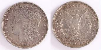 USA One Dollar, 1921, Liberty head - Stock Ref:7079-13