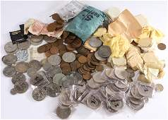 Coin collection to include a large quantity of Crowns