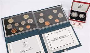 Coins to include Royal Mint coin sets and a 1990