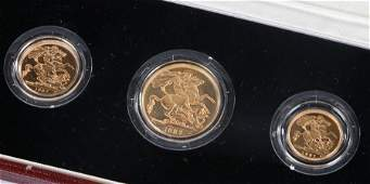Elizabeth II United Kingdom Gold Proof Set 1987 to