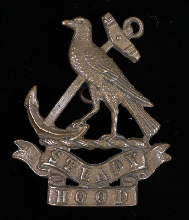 World War One cap badge to the Hood Battalion, Royal