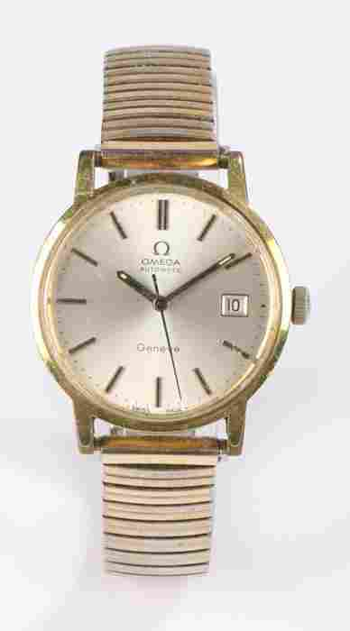 Omega Geneve automatic gentleman's gold plated
