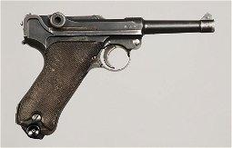 1937 Mauser S/42 Nazi Luger Pistol