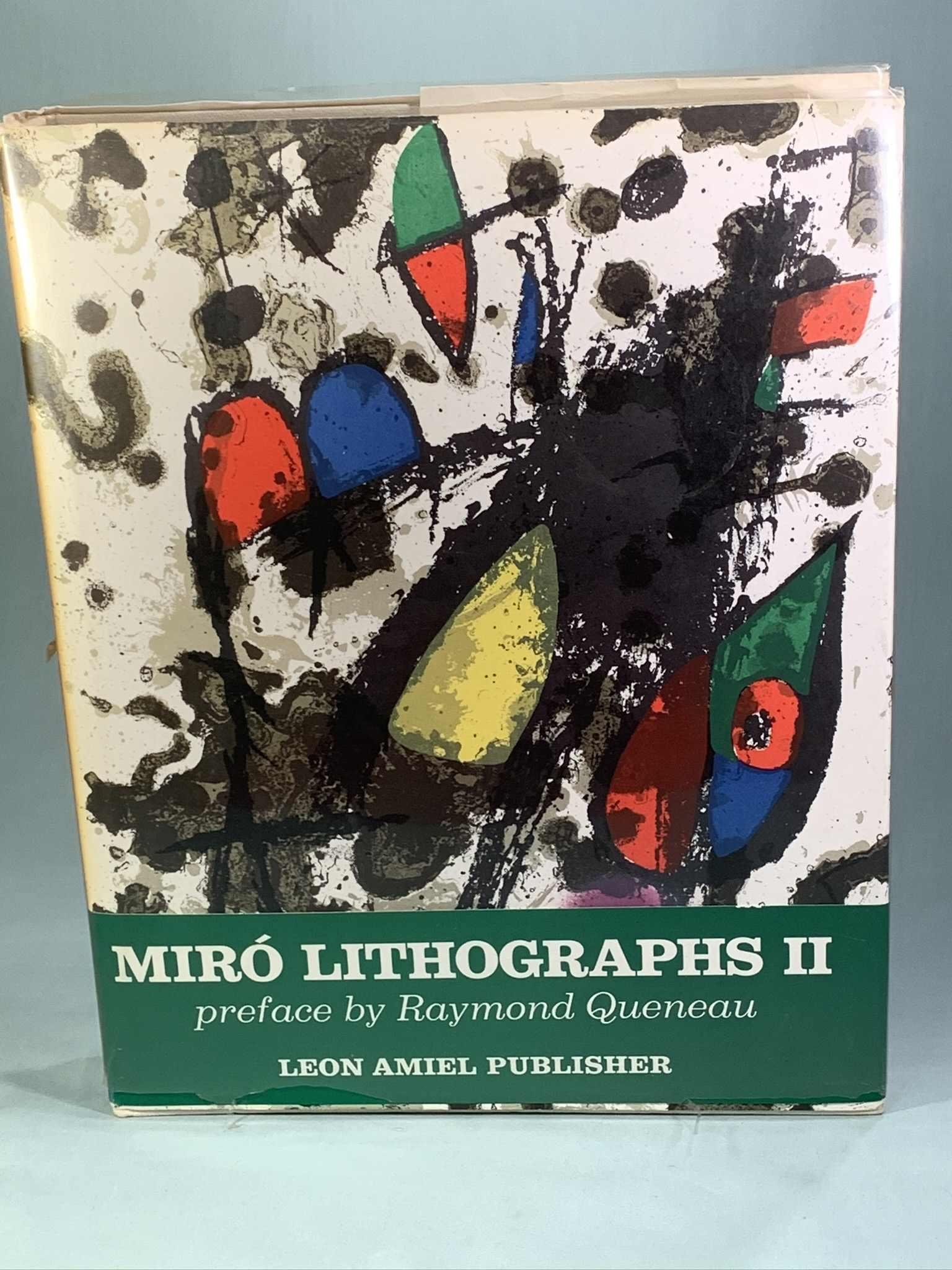 Joan Miro Lithograph Book
