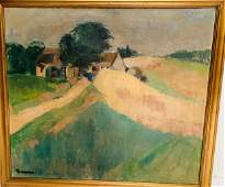 Signed 19th C European School Oil/Canvas