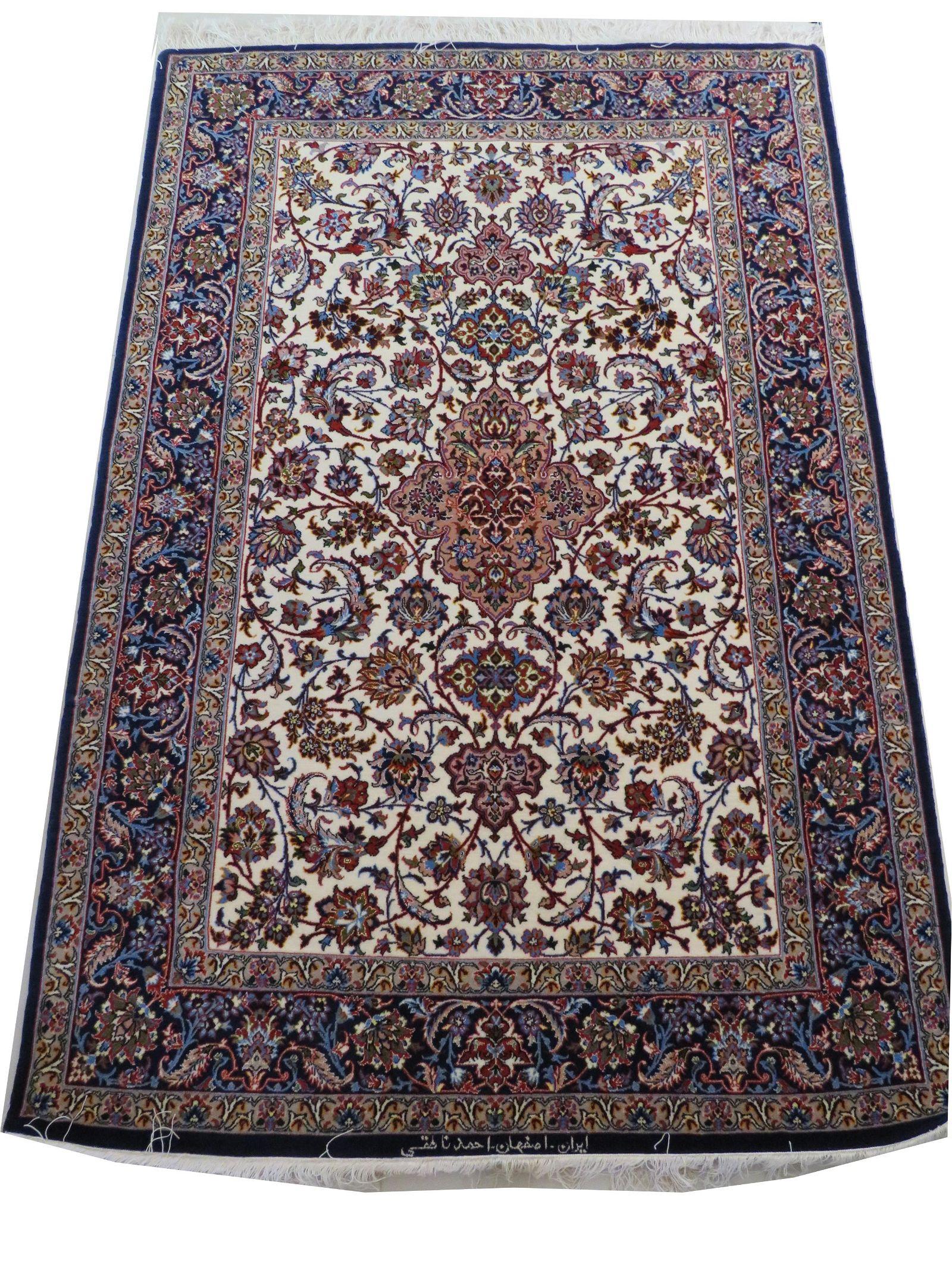 Vintage Persian Silk Rugs