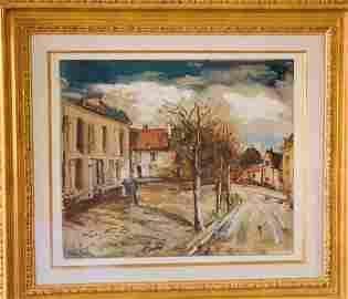 Maurice de Vlaminck Watercolor on Paper