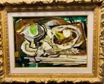 Attrib: Georges Braque O/C Still Life