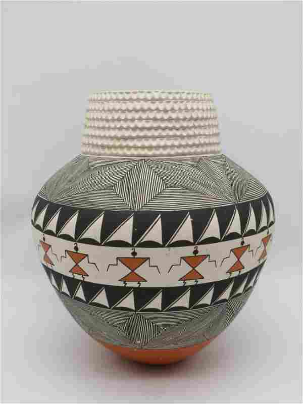 Native American Vessel by Jay Vallo