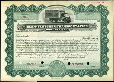 5: Beam-Fletcher Transportation Company, Inc.