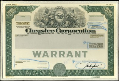 6: Chrysler Corp. Production File,