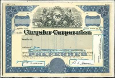 7: Chrysler Corp. Production File,