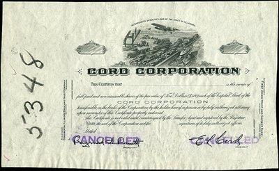 11: Cord Corporation - Automobile Proof.