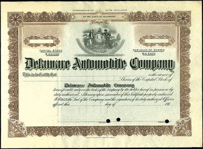 12: Delaware Automobile Company,