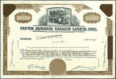 13: Fifth Avenue Coach Lines, Inc. Error,