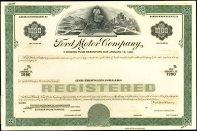 15: Ford Motor Co. Production File,