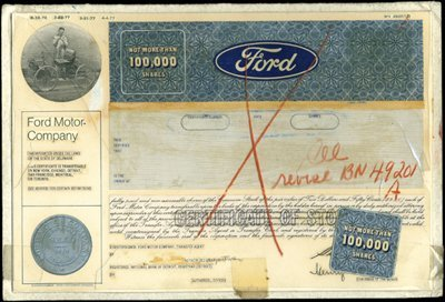 18: Ford Production File,