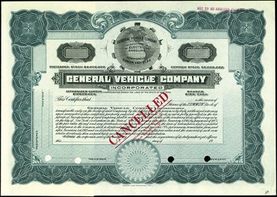 24: General Vehicle Company,