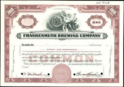 107: Frankenmuth Brewing Company.