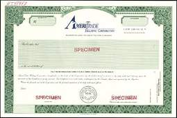 720: Northern California Bank Stock Certificate Assortm