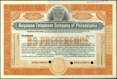 932: Keystone Telephone Company of Philadelphia