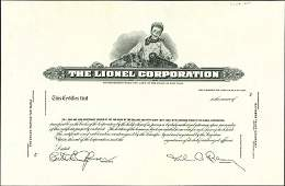 958: The Lionel Corporation Proof (Boy with Toy Lionel