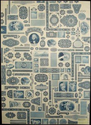 1862: ABN Proof Vignette Sheet,