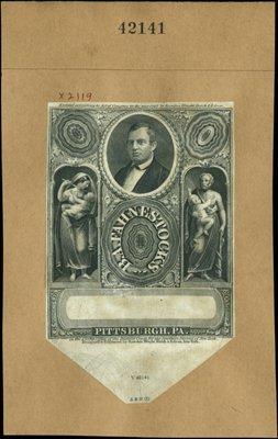 1877: U.S. B.A. Fahnestock's Labels (2).