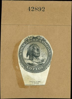 1878: U.S. Company Trademark Labels Used on Letterheads