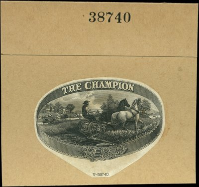 1879: U.S. Company Trademark Labels Used on Letterheads