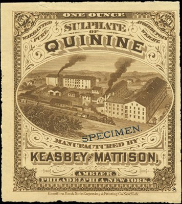 1881: U.S. Early Patent Medicine and Soda Labels (6).