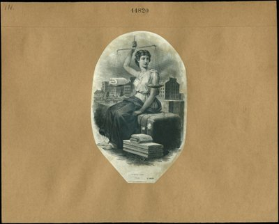 1885: U.S. Textile Label Proofs - all Large.